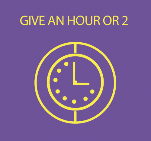 Give an hour or two